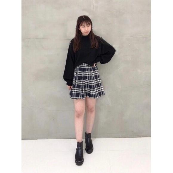 ♡チェック柄プリーツミニスカート♡