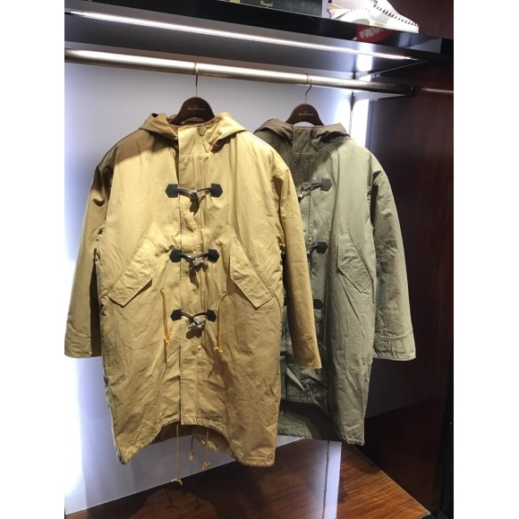 フーデットライナー付き Vintageモッズコート