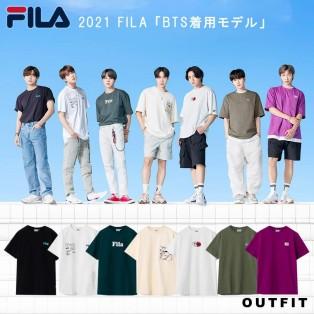 【再入荷】BTS×FILA コラボ 限定Tシャツ
