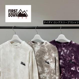 【 First Down 】21AW タイダイ柄のロンTが入荷!!