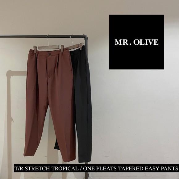 【 MR.OLIVE 】21AW セットアップ可能なストレッチパンツ!!