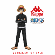 【本館6階・Kappa】Kappa × ONE PIECEコラボレーションアイテム登場!