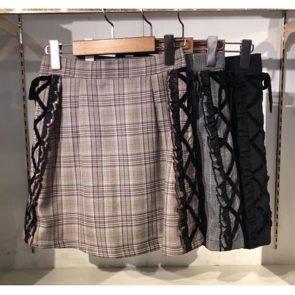 編み上げスカート♡