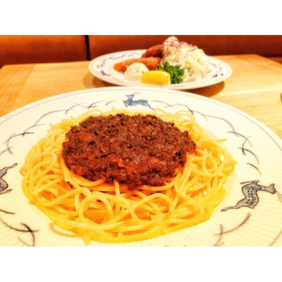 牛肉のミートソーススパゲッティー
