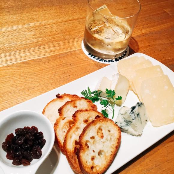 3種のチーズプレート