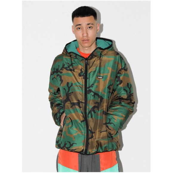 REVERSIBLE HOODED CAMO JACKET