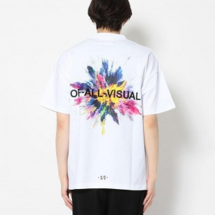 A4A/エーフォーエー/SPLASH TEE/スプラッシュTシャツ