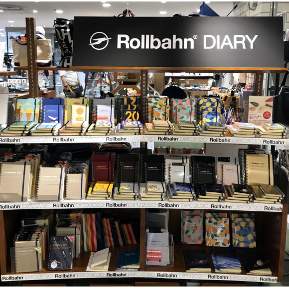 Rollbahn Diary 2020 入荷