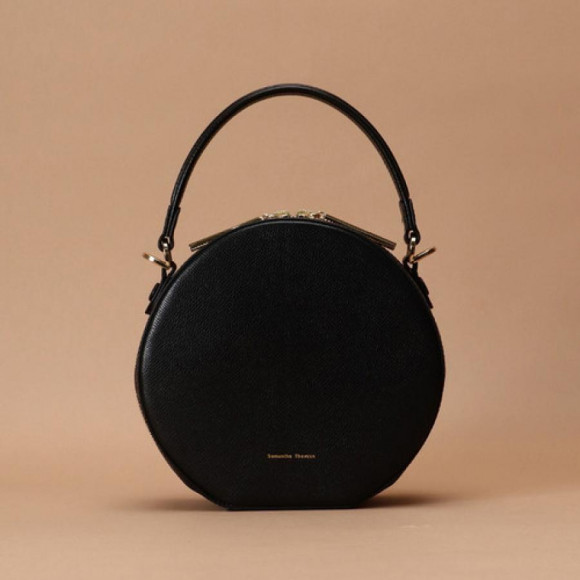 【50%OFF】サークルデザインハンドバッグ
