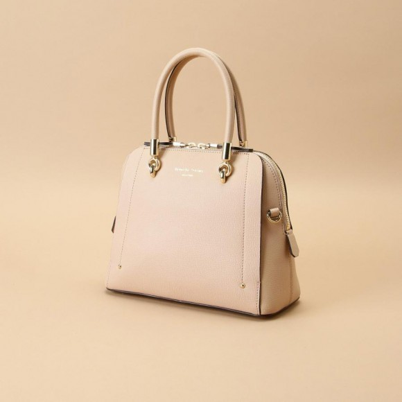【New Basic】Avec toi (Leather top handle bag)