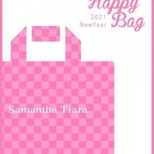 2021年【SamanthaTiara  HappyBag】元旦お届け予定なのは明日まで!