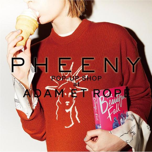 PHEENY POP UP!!
