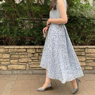 ダブルフロッキードレス