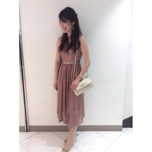 ラッセルレースドレス♡
