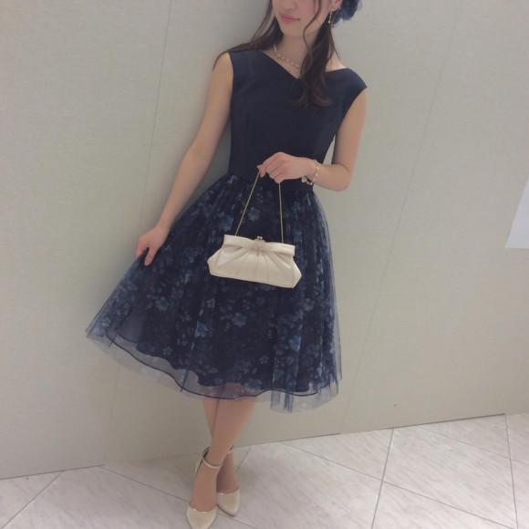 フラワーチュールスカートドレス☆