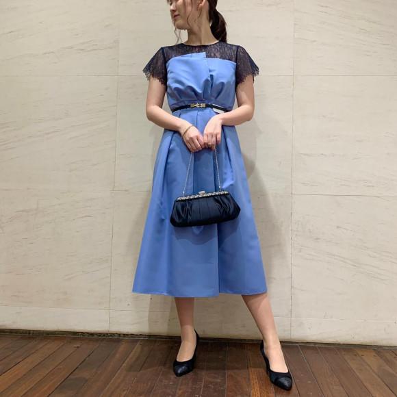 ミモレ丈ドレス