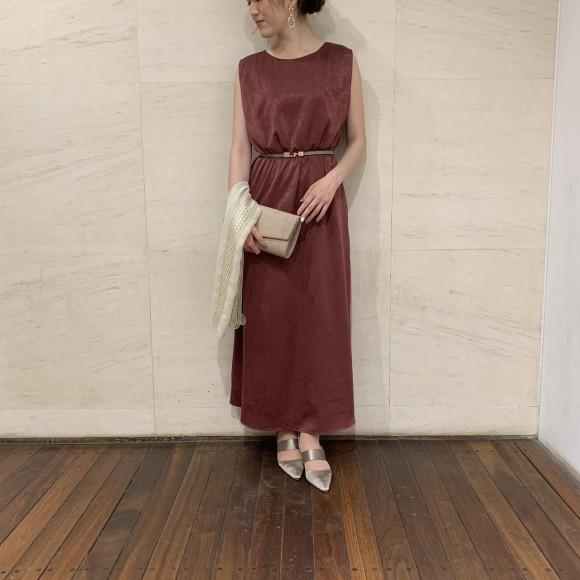 アンクル丈ドレス