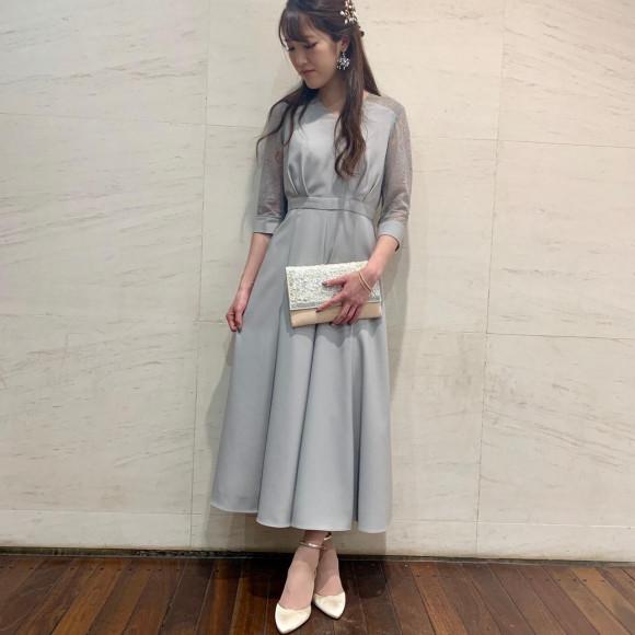 お袖付きドレス