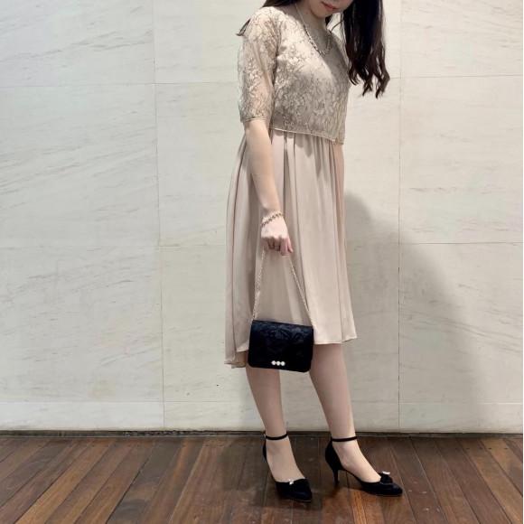 テールスカートドレス