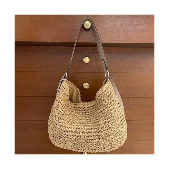 買い物時におすすめ☆2WAYペーパー素材バッグ
