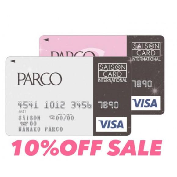 PARCO10%OFF SALE開幕♡