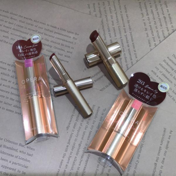 甘いダークカラーの唇♡OPERA(オペラ)限定色発売