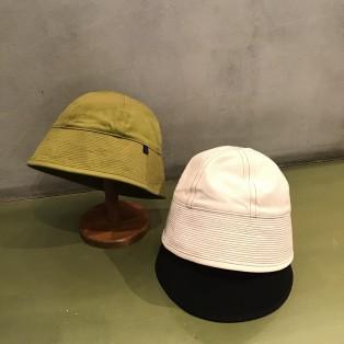 水兵帽をイメージしたクロッシェ風ウォッシャブルハット<NAVAL>シリーズ。