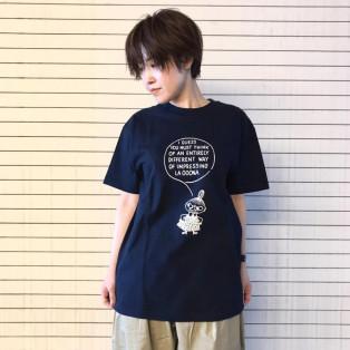 吹き出し柄ミイ半袖Tシャツ