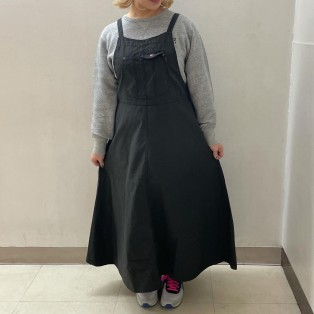 デニム/バックツイルジャンパースカートのご紹介