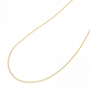 K18Yellow Gold 0.42 Square Chain 50cm