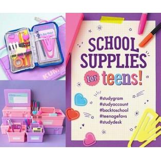 8/16(金)からスタート♪『SCHOOL SUPPLIES for teens!』