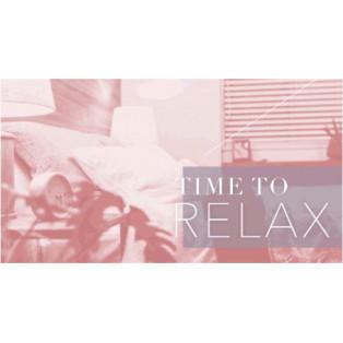 秋のおうち時間に♪【TIME TO RELAX】プロモーション スタート!