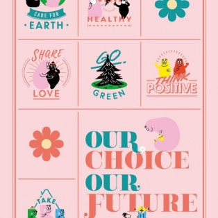 バーバパパと一緒に♪『OUR CHOICE OUR FUTURE』プロモーション スタート!