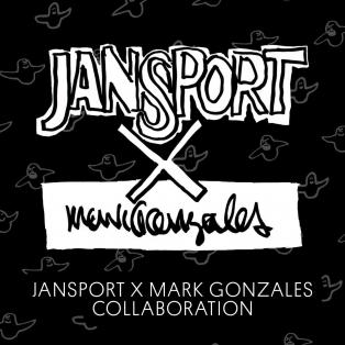 【BAG】JANSPORTS x MARK GONZALES コラボデイパック発売決定!!