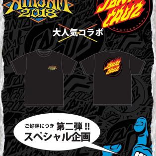 【AIRJAM × SANTACRUZ】スペシャルコラボTEE 8月18日発売!!!