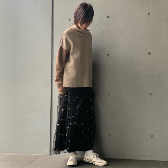 フラワーテディ スカート
