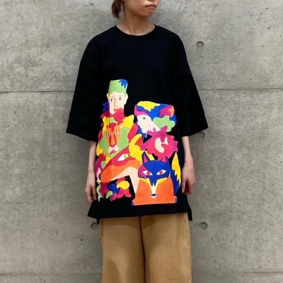 FRAPBOIS×田室綾乃×クレパス(BIG Tシャツ)