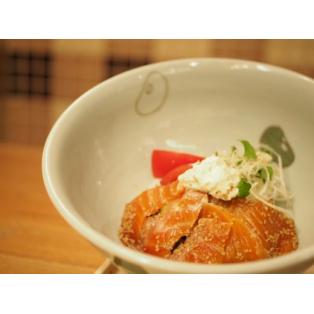 期間限定!青森県産 海峡サーモンとクリームチーズ