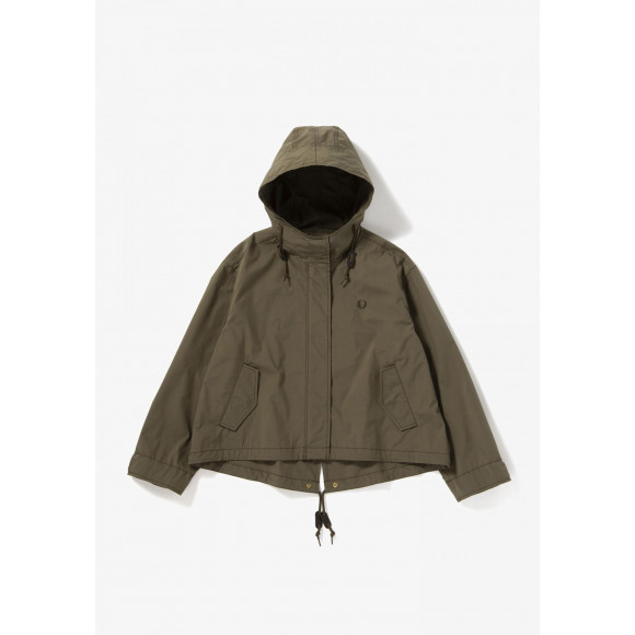 CROPPED FISHTAIL PARKA
