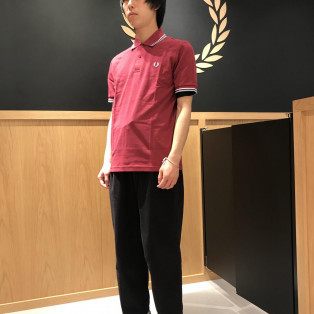 THE ORIGINAL TWIN TIPPED FRED PERRY SHIRT