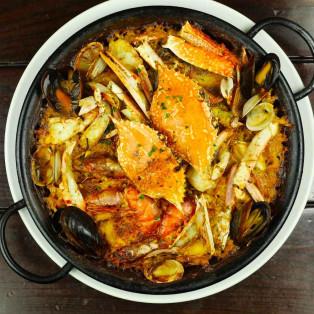 冬の味覚を食べつくす 蟹×海老フェア