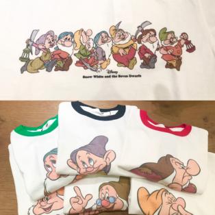 大人気小人Tシャツに新柄登場♡