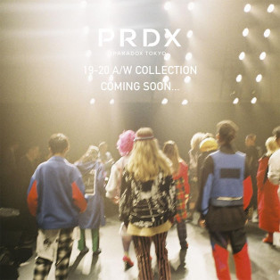 【2019.08.23.FRI NEW RELEASE】PARADOX TOKYO 19-20 A/W COLLECTION