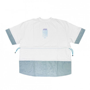 【NEW ARRIVAL】LISTLESS - SWITCH TEE FROZEN-TYPE (WHITE)
