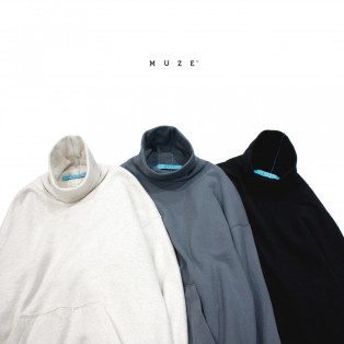 2020.10.23.FRI IN STORE MUZE TURQUOISE LABEL【HIGHNECK SWEAT】