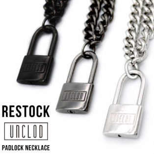 【RESTOCK】  unclod - PADLOCK NECKLACE