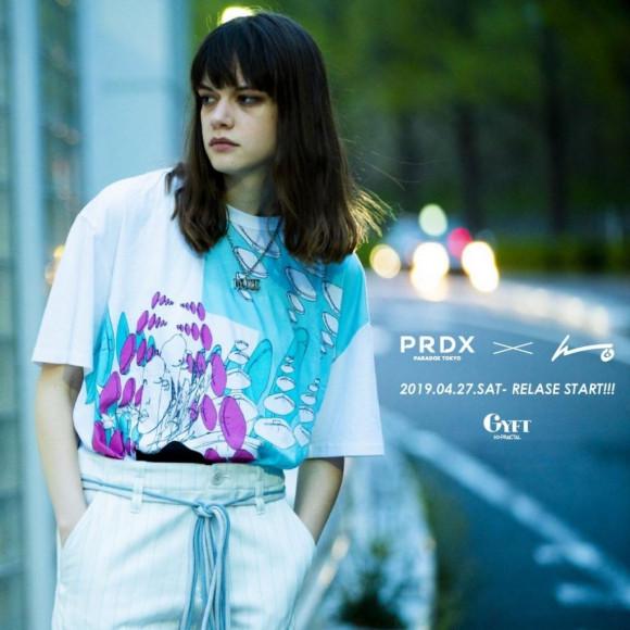 『PARADOX TOKYO』×『kureino』2019.04.27.SAT RELEASE START!!!