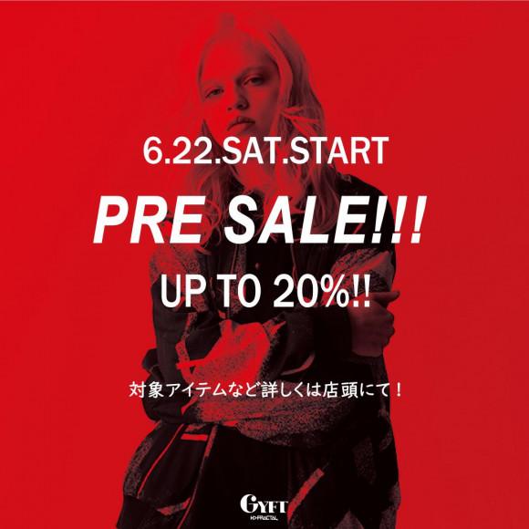 【2019.06.22.SAT.START】 PRE SALE!!!