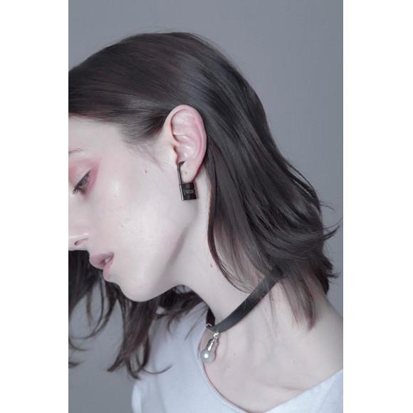 【unclod】PADLOCK EAR CUFF