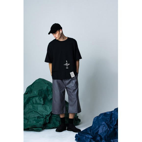 【NEW ARRIVAL】PARADOX - WIDE BIG TEE(PERSPECTIVE)
